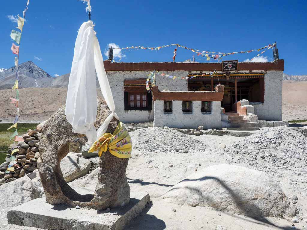 The gompa at Merak, Pangong Tso