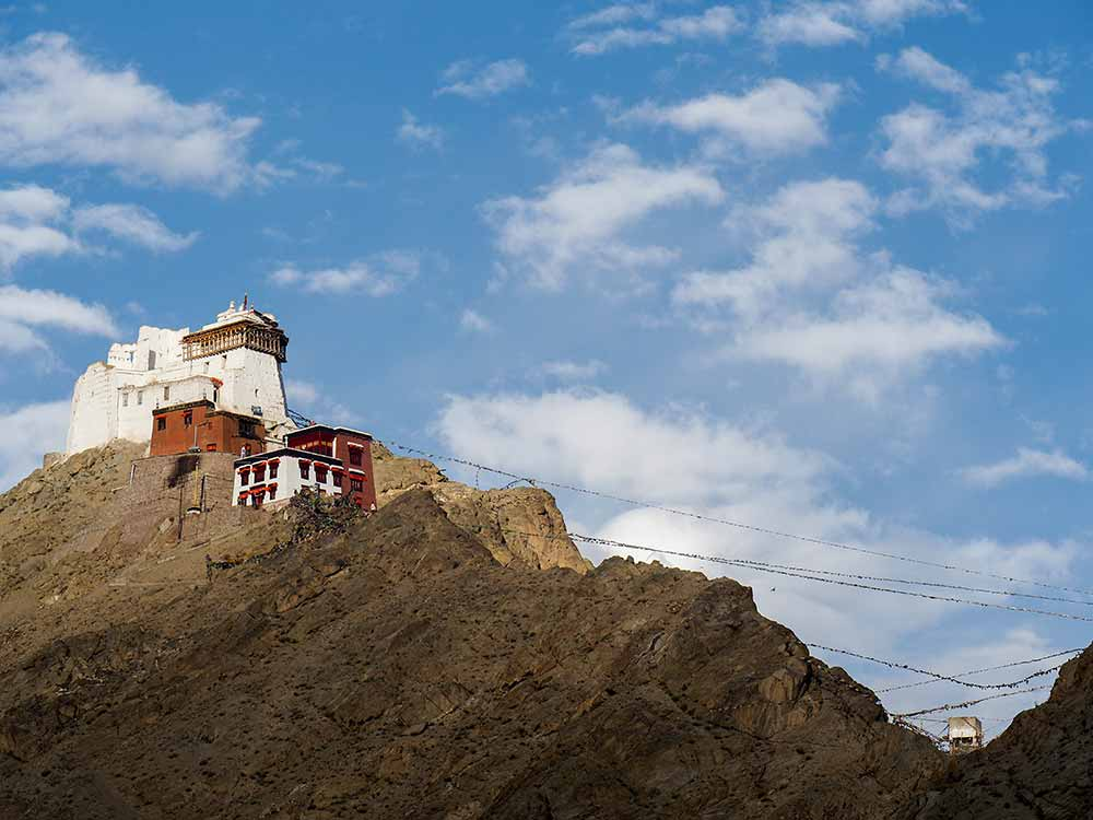 Leh Fort, view from the hotel