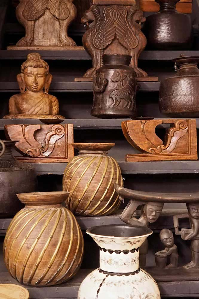 wooden carvings from India