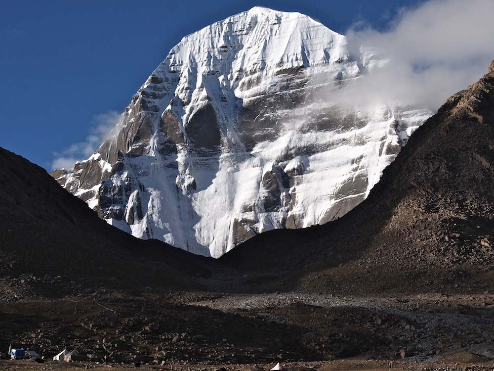 The North Face of Mt Kailash, Tibet