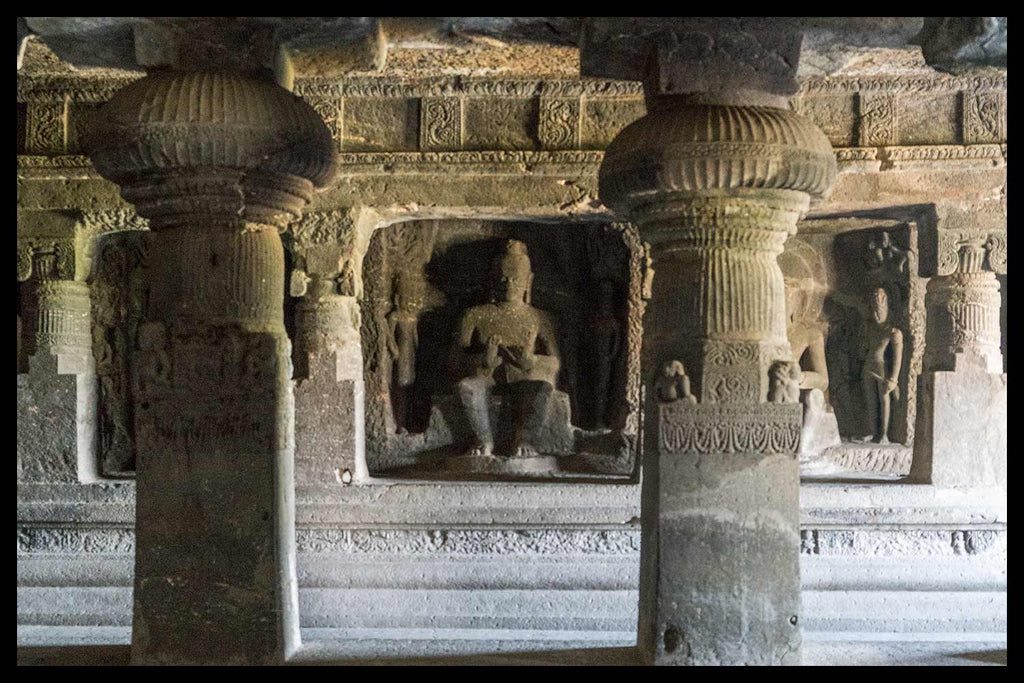 Teaching Buddha, Cave 11, Ellora