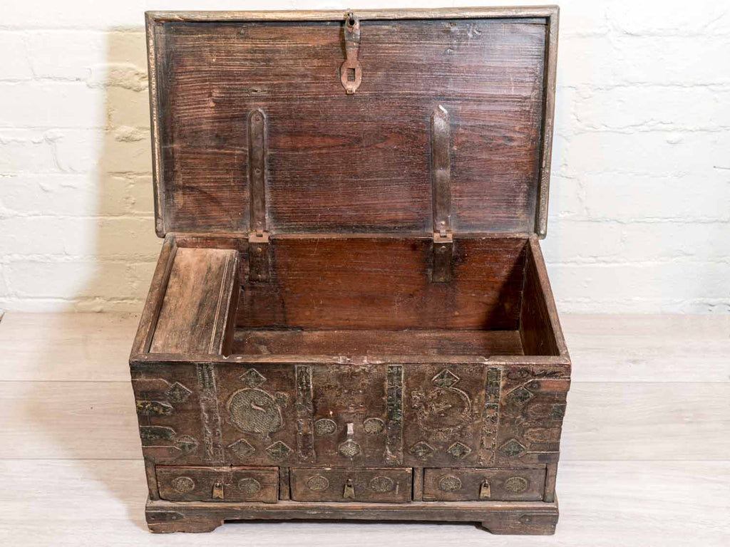 Vintage Indian Dowry Box