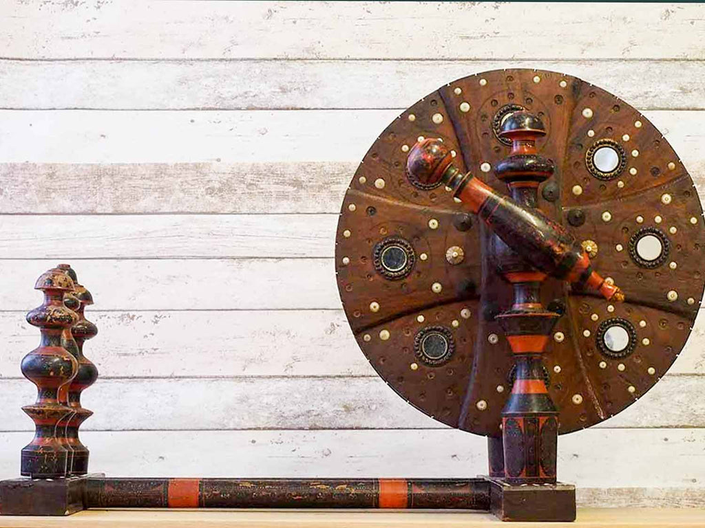 Antique Charkha Spinning Wheel