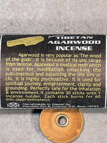 Agarwood Tibetan incense