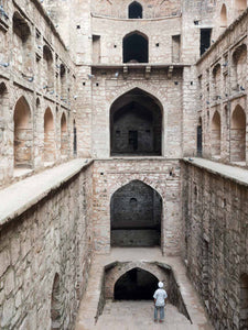 Agrasen ki Baoli Stepwell & Mr Singh, Delhi