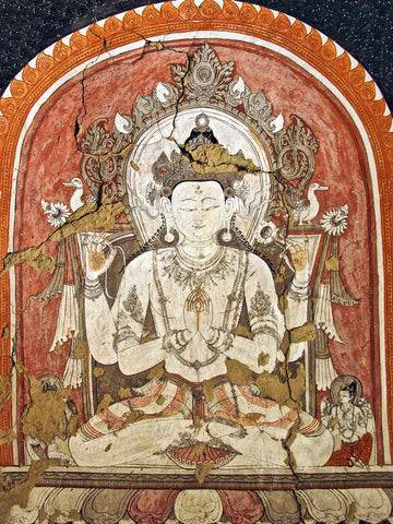 Photo of Avalokiteshvara Cave Painting, Mustang