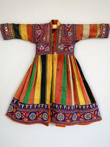 Vintage Embroidered Boys Coat from Rajasthan