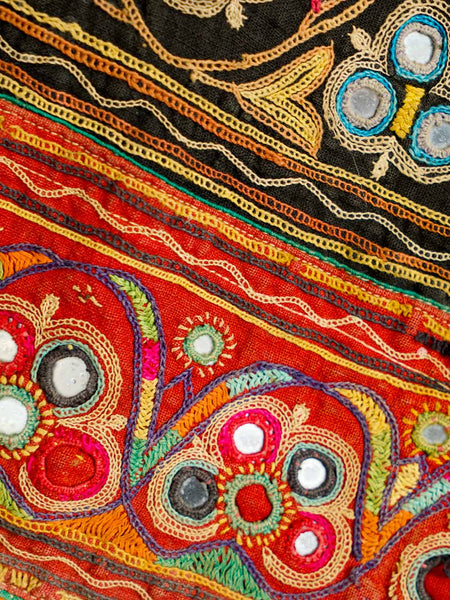 Embroidered Vintage Ghargra Skirt from Gujarat3