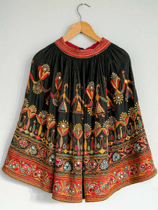 Embroidered Vintage Ghargra Skirt from Gujarat