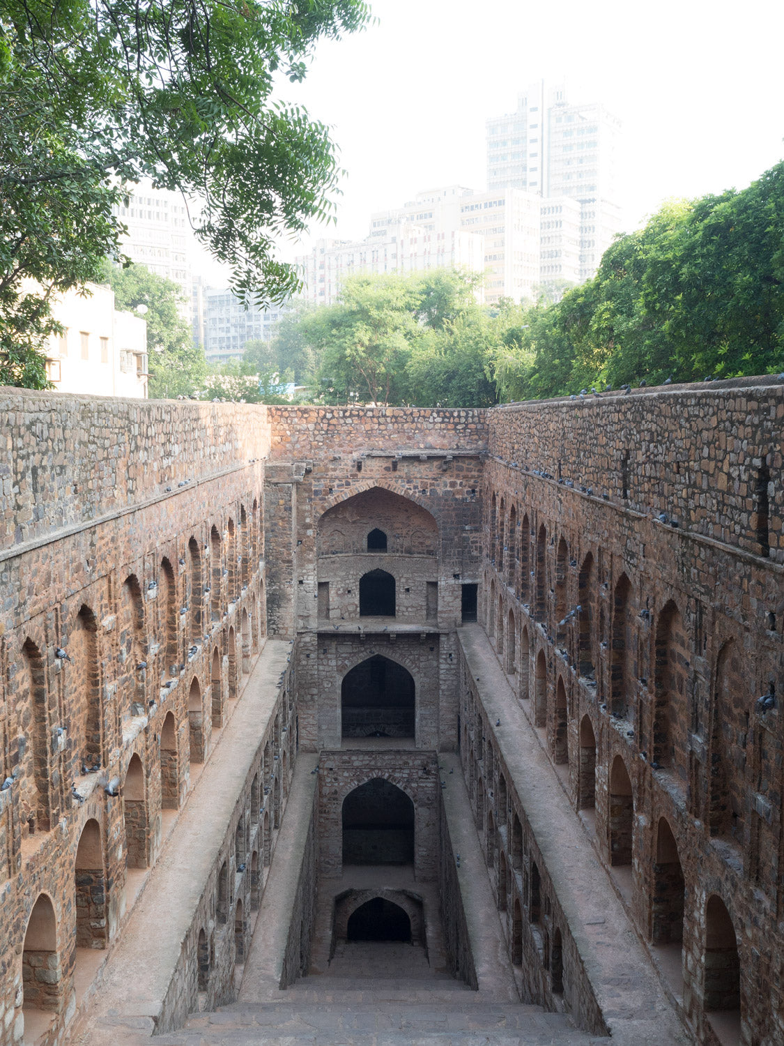 Photo of Agrasen ki Baoli Stepwell at Delhi