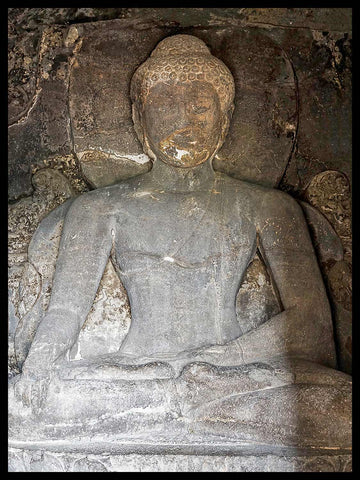 Earth Touching Buddha, Cave 11 | Photos of Ellora Caves, India