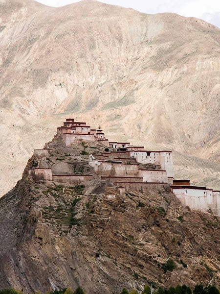Distant View of Gyantse Dzong