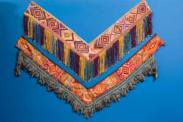 Embroidered Saye Gosha from Afghanistan