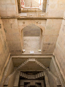 Photo Nahar Dhoos ki Baoli Stepwell, Bundi, Rajasthan