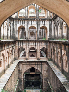 photo of Chetan das ki Bawri stepwell at Lohargal in Shekawati, Rajasthan