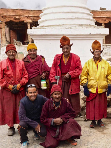 Monks at Rangdum Monastery | Zanskar