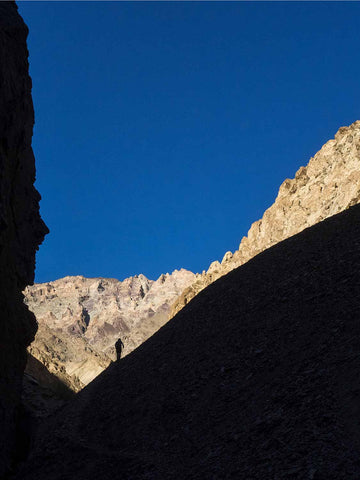 Emerging from Canyon into Blue Sky, Zanskar