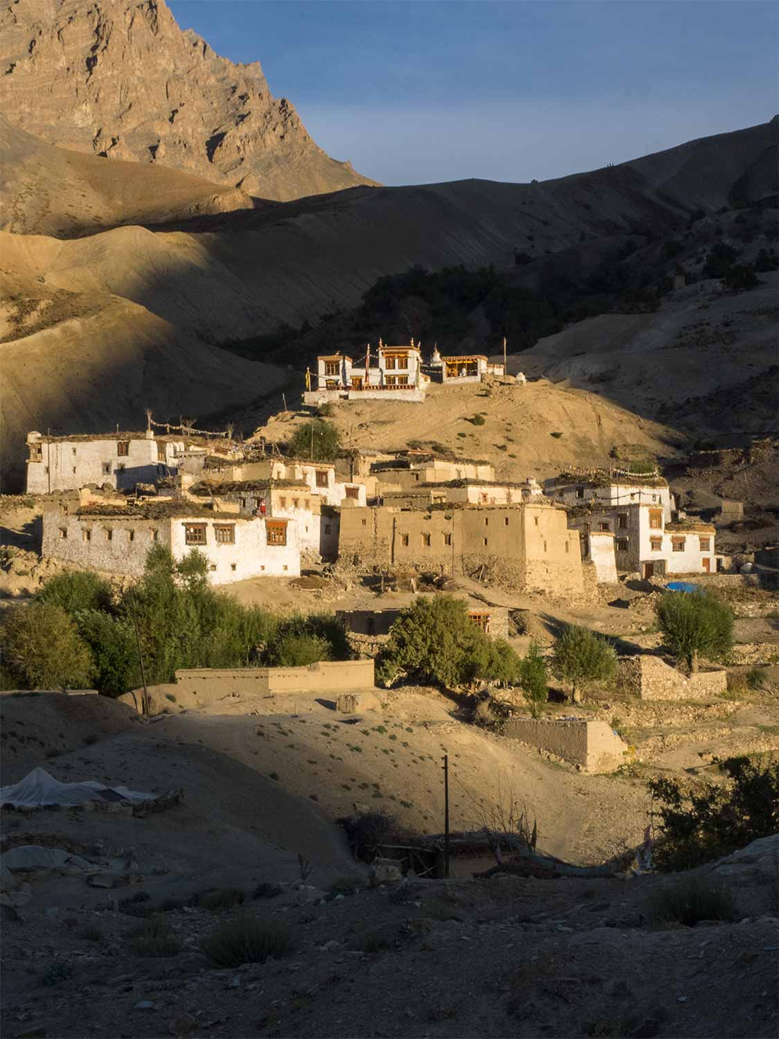 Nierak Village, Zanskar, Late Afternoon