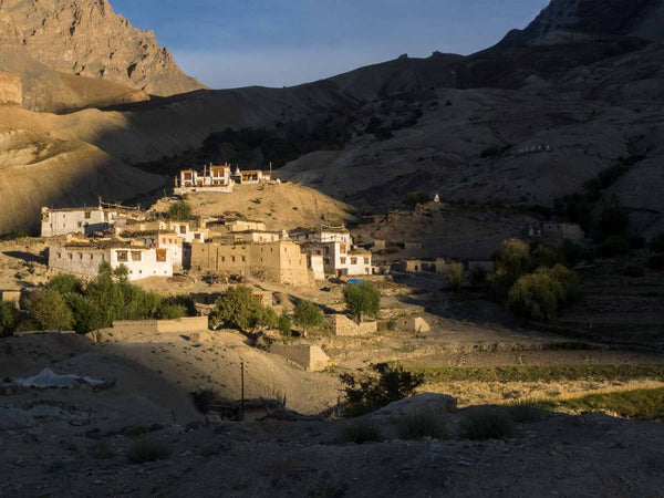 Nierak Village, Zanskar, Late Afternoon 1