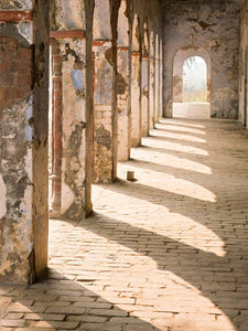 Painted Colonnades at Vrindavan