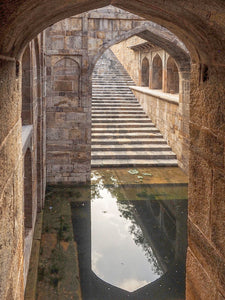 Red Fort Stepwell, Delhi