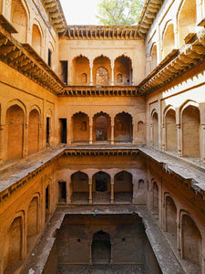 Taseen Stepwell, Upper Levels, detail
