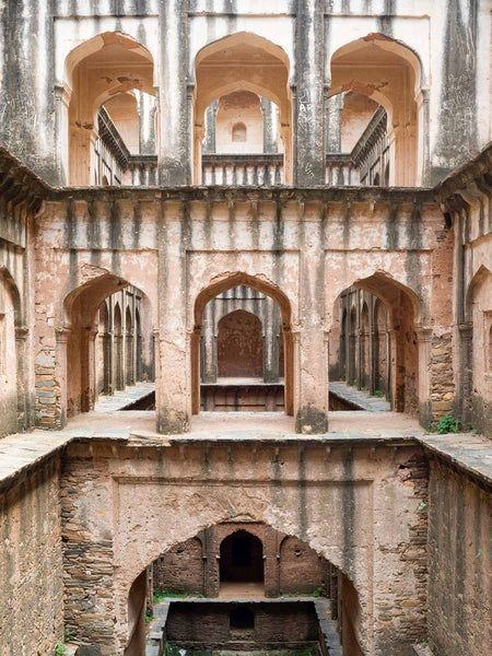 Lohargal Stepwell, Lower Floors, Shekawati | Stepwell Photo 1