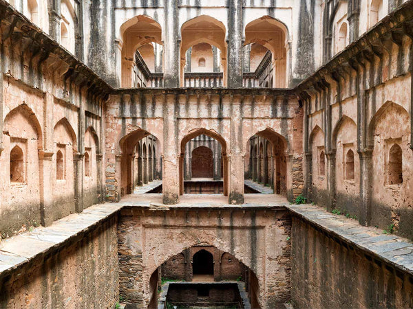 Lohargal Stepwell, Lower Floors, Shekawati | Stepwell Photo