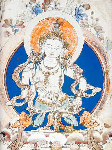 Photo of Painting of Vajrasattva at Samye