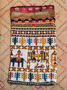 Vintage Beaded Purse from Gujarat