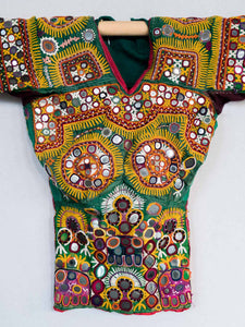 Vintage Embroidered Choli Blouse from Rajasthan