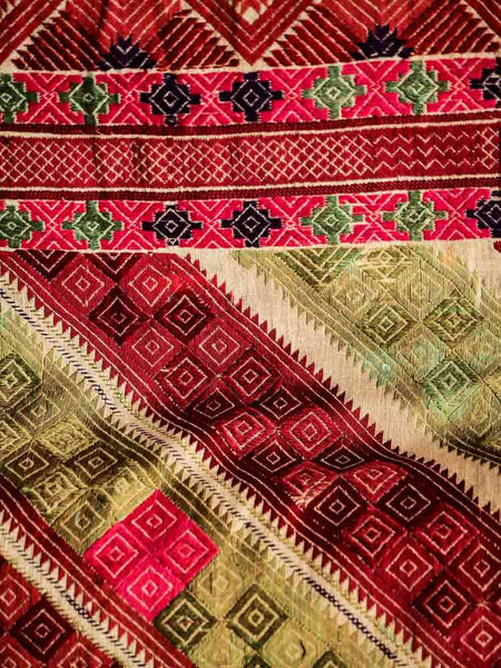 Embroidered Wedding Shawl from Afghanistan