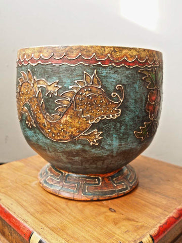 Painted Tibetan Bowl 1