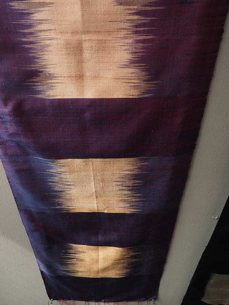 Purple/Gold Pha Tung Prayer Flag from Laos 3