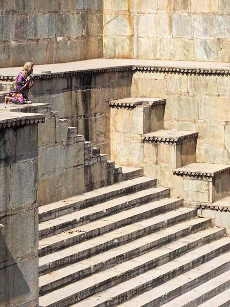 Roaring Tiger Stepwell in Rajasthan 1