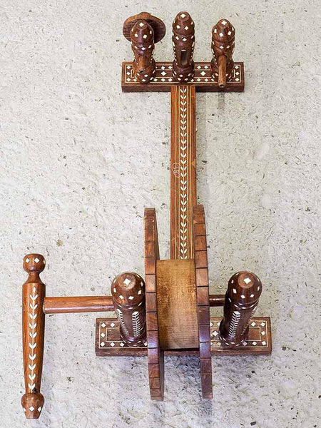 Indian Small Charkha Spinning Wheel 1