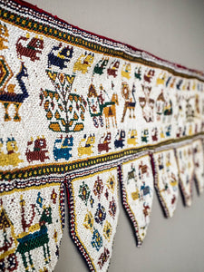 Beaded Toran Wallhanging from Gujarat, India
