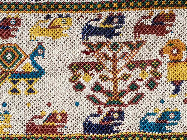 Beaded Toran Wallhanging from Gujarat, India  4
