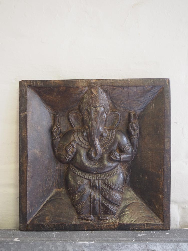Wall Mounted Ganesha Sculpture 1