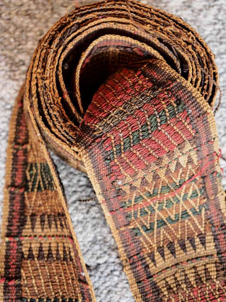 Woven Kuchi Tent Band from Afghanistan 5
