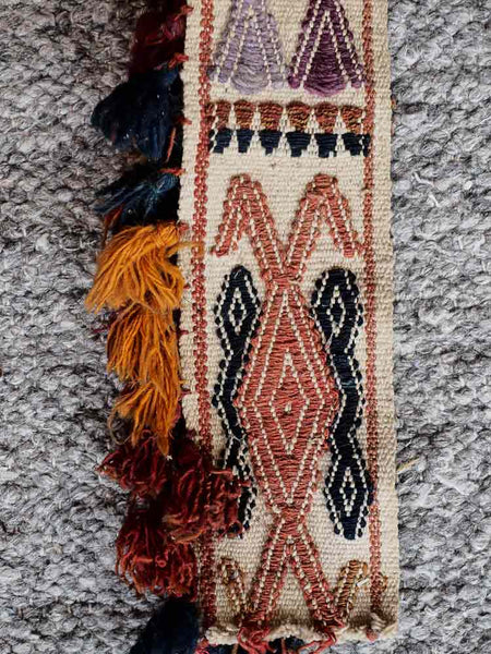 Uzbek Woven Tent Band from Afghanistan 2