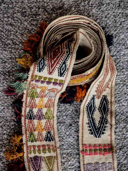 Uzbek Woven Tent Band from Afghanistan 4