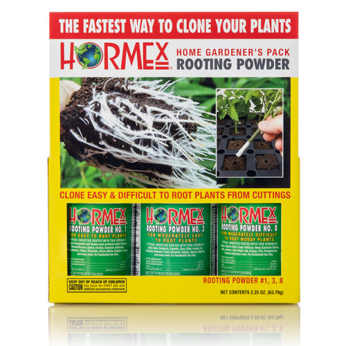 Hormex Rooting Pack  #1, 3, 8 | Clone Easy to Moderately Difficult Plants From Cuttings