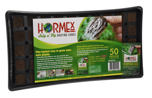 Hormex Rooting Cubes - 50 Cube Tray + Rooting Powder #8 Packet