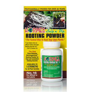 Hormex Rooting Powder #16 | Clone Difficult to Root Plants From Cuttings