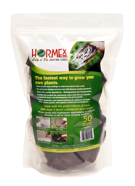 Hormex Rooting Cubes - 50 Cube Refill Bag