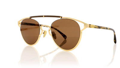 AM Eyewear Noj.1 110.1 GD/SM Gold Sunglasses