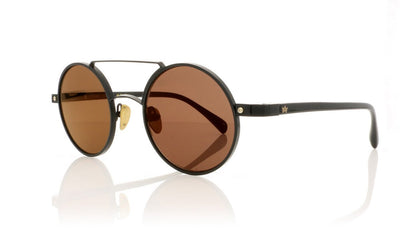 AM Eyewear Chico 112 BL-GGR Black Sunglasses at OCO