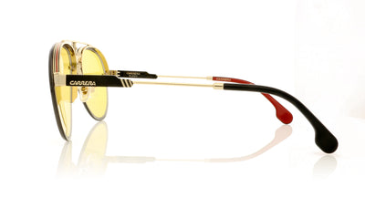 Carrera GLORY DYGHW Gold Yellow Sunglasses