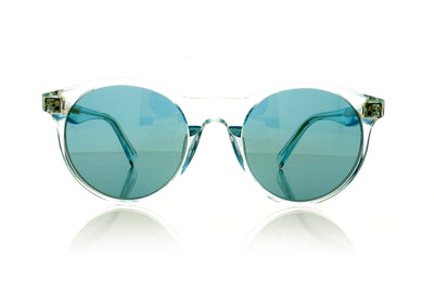 Céline CL40010U 84X Shiny Light Blue Sunglasses at OCO